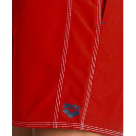 arena Fundamentals Solid Boxer Hombre, fluo red/shark